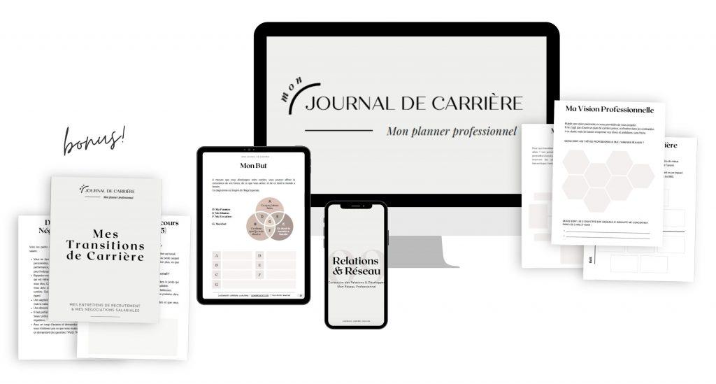 Mon Journal de Carrière - aureliefoucart.com