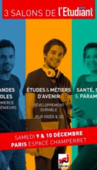 Affiche Salon de l'Etudiant 2017 stéréotypes - aureliefoucart.Com